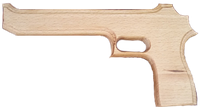 """Пистолет """"Магнум""""Игла пустыни"""", 25см, в пак. 33*17см(171915у)"""