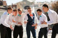 Свадьбы в галстуках-бабочка I&M