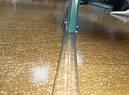 Фурнитура душевых кабин акриловый порог прозрачный SM-8-1 (высота 6 мм), фото 6