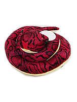 Змея мягкая свернувшаяся, диаметр 26см (120шт)(A1-1216-3)