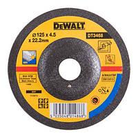Шлифкруг по металлу вогнутый INOX  DeWALT DT3468-QZ (США/Тайвань)