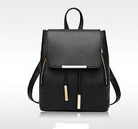 Элегантный рюкзак из эко кожи с украшениями
