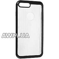 Чехол накладка пластиковая для Apple iPhone 7 Plus черный