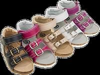 Детские ортопедические босоножки для девочек Т-72 ТМ Ортекс (14-20 см)