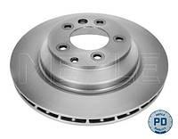 Тормозной диск задний Porsche Cayene(2004-) Meyle(115 523 0034PD)