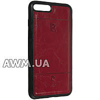 Чехол накладка Pierre Cardin для Apple iPhone 7 Plus красный
