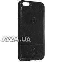 Чехол накладка Pierre Cardin для Apple iPhone 6 / 6S черный