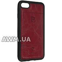 Чехол накладка Pierre Cardin для Apple iPhone 7 красный