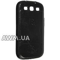 Чехол накладка Pierre Cardin для Samsung Galaxy S3 (i9300) черный