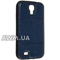 Чехол накладка Pierre Cardin для Samsung Galaxy S4 (i9500) синий