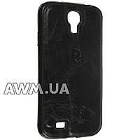 Чехол накладка Pierre Cardin для Samsung Galaxy S4 (i9500) черный
