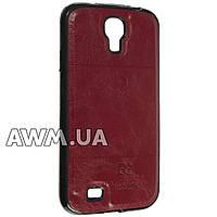 Чехол накладка Pierre Cardin для Samsung Galaxy S4 (i9500) красный