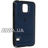 Чехол накладка Pierre Cardin для Samsung Galaxy S5 (G900H) синий