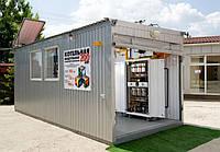 Модульная газовая крышная котельная Колви КМ-2-400-Т/Гн-ВПМ-192ДН (384 квт)