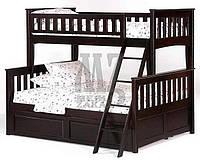 """Кровать двухъярусная деревянная """"Жасмин"""""""