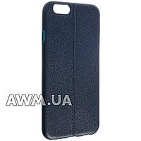 Чехол накладка ультра-тонкий для Apple iPhone 6 /6S темно-синий