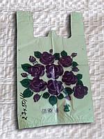 """Пакет поліетиленовий """"Квіти"""""""
