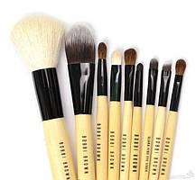 Кисти для макияжа Bobbi Brown 9 штук в чехле (Бобби Браун) | Набор кистей + Чехол в Подарок реплик, фото 2