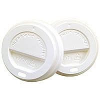 Крышка для бумажного стакана КР-75 коричневая 50шт уп  40уп/ящ (для 250 ст Ripple)