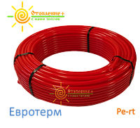 Труба для теплого пола Euroterm standart OXYstop PE-RT
