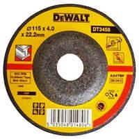 Шлифкруг по металлу вогнутый INOX  DeWALT DT3458-QZ (США/Тайвань)