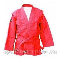 Куртка самбо Green Hill Junior SSJ-10369