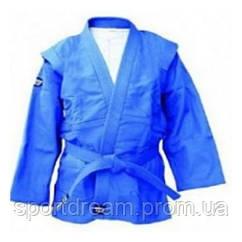 Куртка самбо Green Hill Junoir SSJ-10369 синий