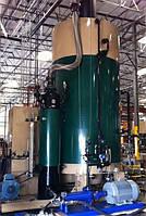 Твердотопливный промышленный парогенератор, мощностью  1200 кг пара/час.