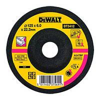 Круг шлифовальный по металлу 125мм DeWALT DT3412-QZ (США/Польша)