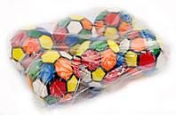 Мяч детский, фомовый, d=9,5см, ЦЕНА ЗА УП., 6шт в уп., в пак. 29*20см (50шт)(466-740)