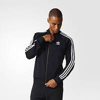 Олимпийка мужская adidas Originals Superstar BK5921 классика черная - 2017