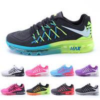 Кроссовки женские/мужские беговые Найк Nike Air Max 2015 KPU (много цветов)