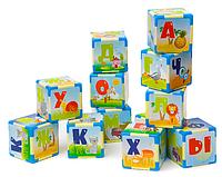 Азбука на кубиках больших, в пак. 33*24*8см, ТМ Орион, произв-во Украина (10шт)(610в.3)
