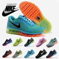 Кроссовки женские/мужские беговые Найк Nike Air Max 2014 (много цветов)