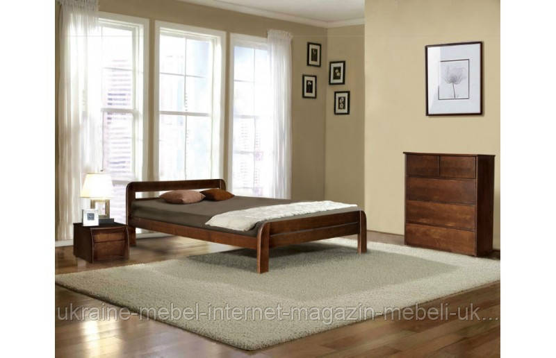 Деревянная кровать  Стефания