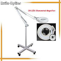 Светодиодная ( LED ) лампа-лупа  напольная