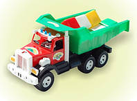 "Машина  ""Фарго"" , с кубик мал. 12шт, в сетке 52*21см, ТМ BAMSIC, произ-во Украина (3 шт/уп)(009/4)"
