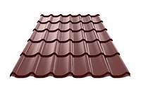Металлочерепица Ruukki  30 (Руукки) MONTERREY 0,5 мм basic,  polyester matt/polyester rough matt (грубый ммат)