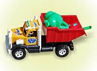 """Машина """"Бамсик"""", лейка слоник мал., в сетке  40*20*19см, ТМ BAMSIC, произ-во Украина (5 шт/уп)(008/3)"""