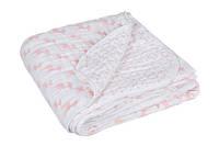 """Lassig - одеяло хлопково-пуховое """"Лела"""" пастельный розовый"""