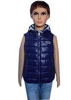 Однотонная жилетка на мальчика, фото 1