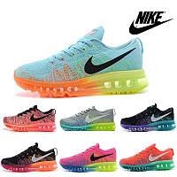 Кроссовки женские/мужские беговые Найк Nike Air Max 2014 flyknit (много цветов)
