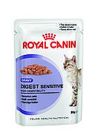 Royal Canin Digest Sensitive в соусе - влажный корм для кошек от 1 года с чувствительным пищеварением 0,085 кг, фото 1