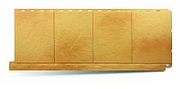 """Фасадные декоративные панели """"Фасадная плитка"""". (Альта Профиль) Златолит"""