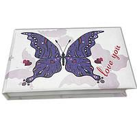 Блокнот MiniNotes со стикерами Post-it, в твердой обложке «Love You»
