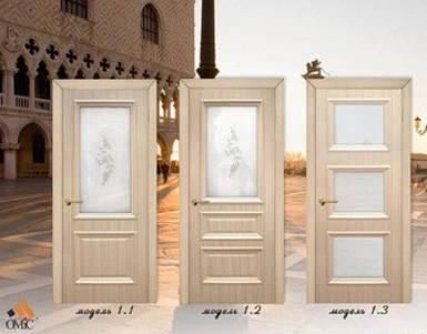 Двері міжкімнатні Оміс серії Сан Марко плівка ПВХ