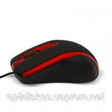 Оптическая мышь HAVIT HV-MS753, USB, красная