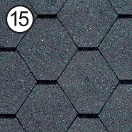 Битумная черепица Roofshield Premium Стандарт СБС, фото 1