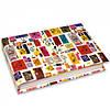 Блокнот MiniNotes со стикерами Post-it, в твердой обложке «Птички»