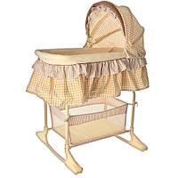 Детская кроватка-качалка Bambi